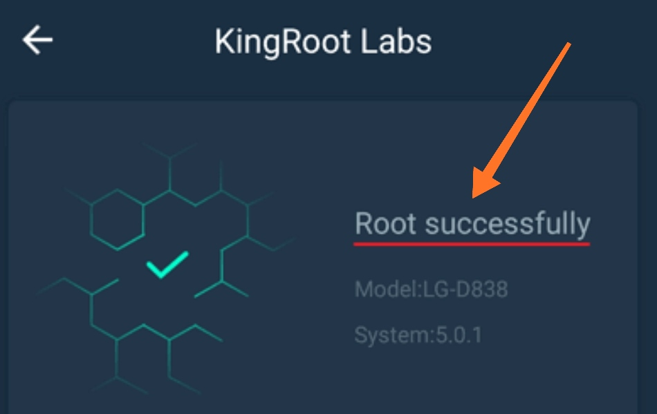Root sukses