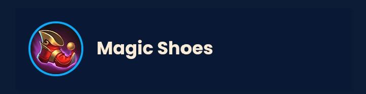 Item magic shoes