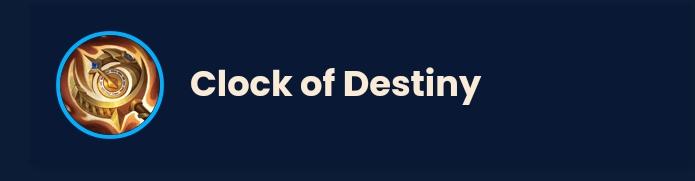 Item mlbb clock of destiny