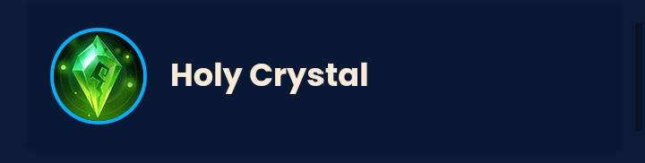 Item Mage mlbb holy crystal